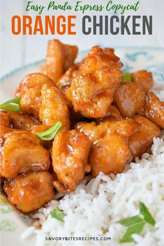 Insanely delicious,easy to make Restaurant style - Orange Chicken! #orangechicken #takeout #easy #delicious #pandaexpress #chickenrecipe