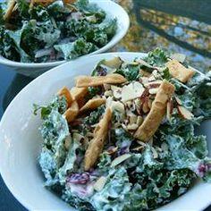 Creamy Kale Salad Allrecipes.com