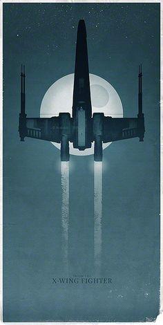 Star Wars - X-Wing Fighter | #starwars #spaceship #design
