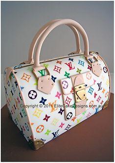 Louis Vuitton ladies handbag Novelty Cake, Ladies Handbag Novelty Cake, 21st, 30th, 40th, 50th Birthday Cakes Sydney, Handbag Birthday Cakes, by EliteCakeDesigns Sydney