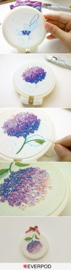 I ❤ embroidery . . .
