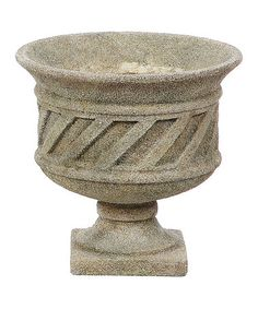 Take a look at this Resin Urn Planter  by Backyard Oasis Boutique on #zulily today!