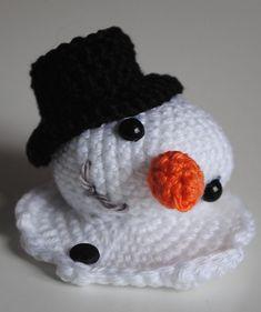 Melting snowman.
