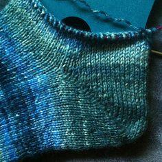 Fish Lips Heel @Abigail Phillips Regan Truax://www.ravelry.com/patterns/library/fish-lips-kiss-heel