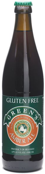 Green's Amber Ale, Gluten Free from Belgium