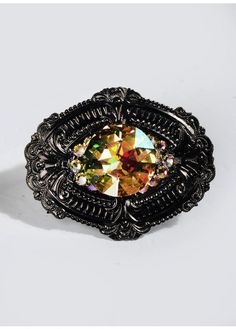 HOUSE OF GASOLINE GLAMOUR - WLA - GYPSY STONE MAXI RING - $70 - (Fall 2013) - http://store.wonderlandla.com/collections/accessories/products/gypsy-stone-maxi-ring