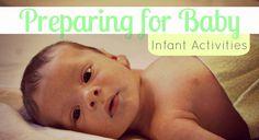 Actividades Montessori para bebes de 3, 6 y 9 meses. Preparing for Baby - Montessori Activities for Babies 3+, 6+, and 9+ months