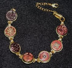 Cool Victorian Button Jewelry by  Dayna