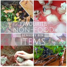 Favourite non-food sensory play ideas