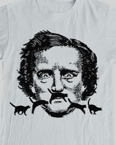 Edgar Allen Poe & cats.