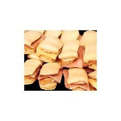 Francesitos (o Jesuitas) mixtos de jamon y queso, otra especialidad del emporio de los sandwiches en Uruguay :)