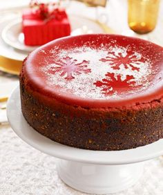Red Velvet Cheesecake {and 35 Best Holiday Desserts} (from Midwest Living)