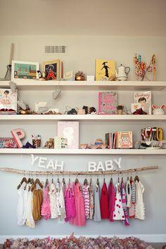 Adorable nursery display.