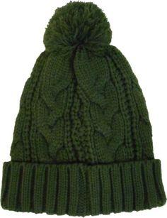 TOPSELLER! Alki`i Premium Cable knit Pom pom warm beanie snowboarding winter hats - many colors $11.99