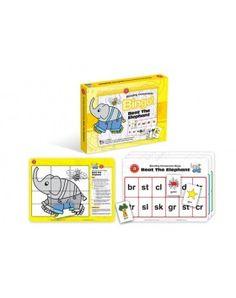 Beat The Elephant Bingo - Blending Consonants