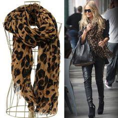 Leopard scarf ...!