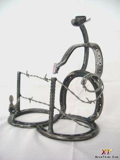 Horseshoe Art Ideas | ... Sculptures horseshoe-sculpture-20 – Modern Art, Design Ideas