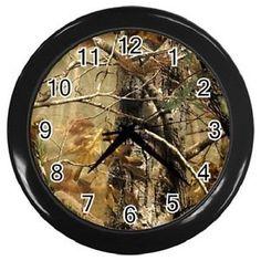 camo+decor | ... -Brown-Realtree-Camo-Wall-Clock-Bedding-Home-Decor-Gift-Free-Shipping