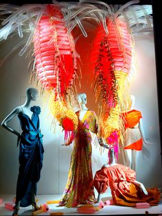 Color Exploration in Bergdorf Goodman windows, New York