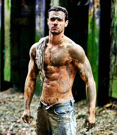 Mud has never looked so enticing.... #hunkDay #GreatOutdoors
