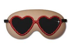 Máscara de Dormir Lolita em neoprene R$ 19,90