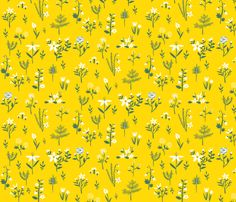 floral fabric by seamripper on Spoonflower - custom fabric