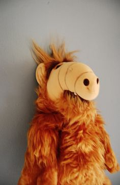 Alf Plush Doll Large 1980's Collectible Alien Toy by SeeDollyRun, $16.00