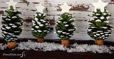 DIY pinecone Christm