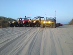Line up those Broncos and hit some sand!