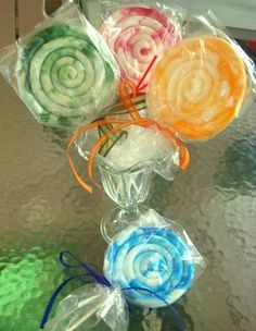 Lollipop Soap  Kid in a Candy Store by ajsweetsoap on Etsy, $6.00