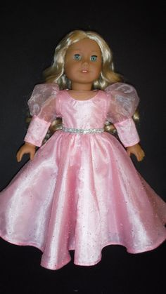 American Girl Doll Clothes - Glinda Dress from the Wizard of Oz - #705