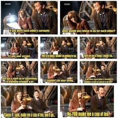 I *adore* Catherine Tate and David Tennant. They seriously were the best doctor-companion duo.