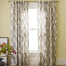 Curtains baby room