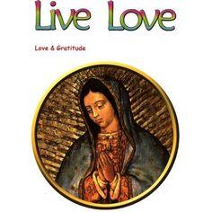 Guadalupe Virgin Static Cling