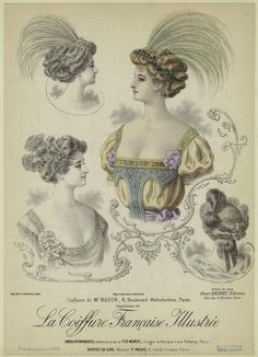 Coiffures de Mr. Madon, 4. Boulevard Malesherbes, Paris. (1908)
