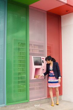 Sprinkles Cupcake ATM. Genius!