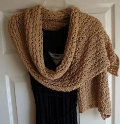 On a chilly night, a light wrap is all you need to keep yourself warm and give your outfit a dignified element. This Elegant Evening Shawl will be a joy to make and wear. A simple lace pattern makes this knit wrap pattern something that almost any knitter can create.