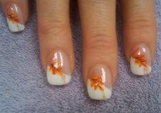 art galleri, nailart, french manicures, fall nails, easi style, fall nail art, nail arts, fall french manicure, design style