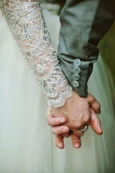 long sleeve wedding dress. delicate. detailed. lovely.