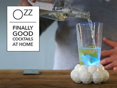 The Ozz is an interactive cocktail shaker that supports you in making great cocktails at home.