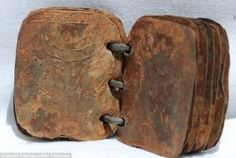 Seventy metal books found in cave in Jordan.