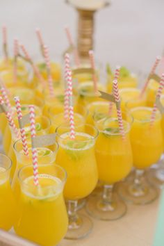 colorful drinks for the guests! photo by Katherine Stinnett http://ruffledblog.com/guanacaste-destination-wedding #reception #wedding #drinks