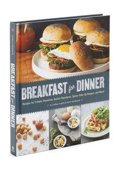 The 'Breakfast for Dinner' cookbook.