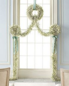 Altar with baby's breath
