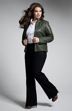 Bernardo Jacket, Foxcroft Shirt & Jag Jeans Denim Trousers | Nordstrom