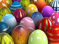 easter eggs art colors crafts DIY