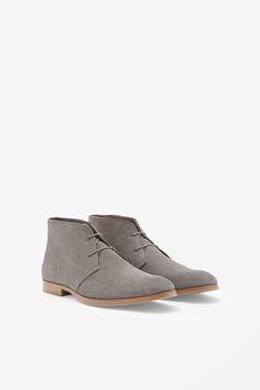 Suede desert boots, COS