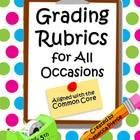 14 Rubrics to help you with that huge pile of grading! PLUS there are 4 Self-Evaluations for students to fill out about themselves. Save yourself some time... $ #rubrics #grading