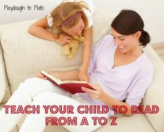 How do Chilren Learn to Learn? Teach Your Child to Read from A to Z focusing on letters sounds