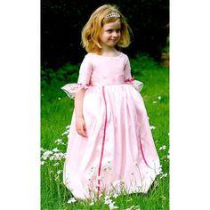 Robe de princesse Marie-Antoinette, robe de princesse fille, robe de princesse enfant - desMerveilles.com